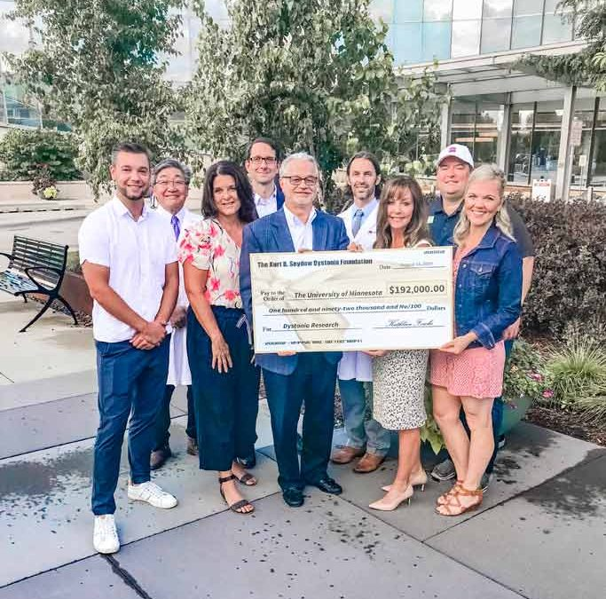 KBSDF Presents 2019 Check to The University Research Team